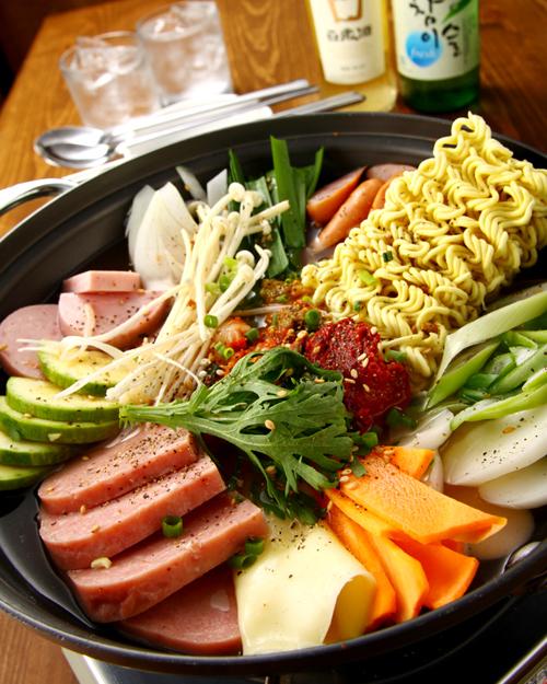 韓国食堂 チャン6ブデチゲA