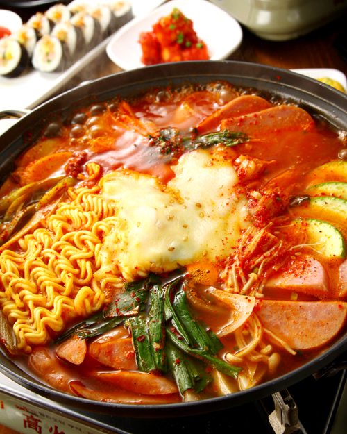 韓国食堂 チャン7ブデチゲB