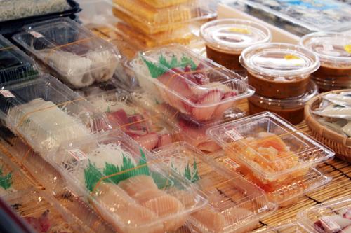 まぐろ問屋西川7冷蔵ショーケース