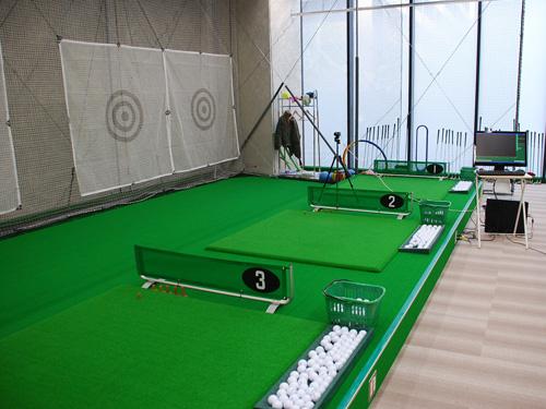 インドアゴルフスクール Golfet0打席1