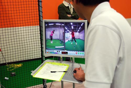 インドアゴルフスクール Golfet6映像
