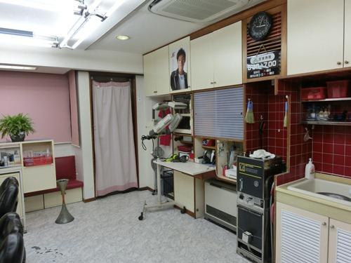 豊洲理髪館4入口付近