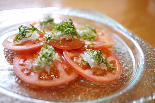 鶏肴菜ぶらり家6トマトオニオンサラダ