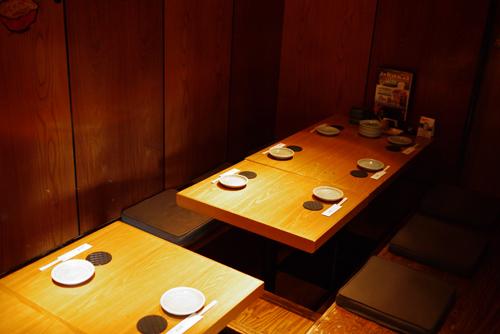 鶏肴菜ぶらり家9個室