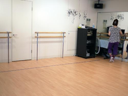 シーガルダンススタジオ2スタジオ