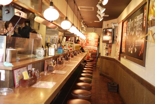 太陽のトマト麺豊洲支店2店内
