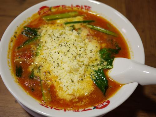 太陽のトマト麺豊洲支店4太陽のチーズラーメン