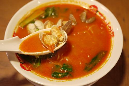 太陽のトマト麺豊洲支店5太陽のボンゴレ麺
