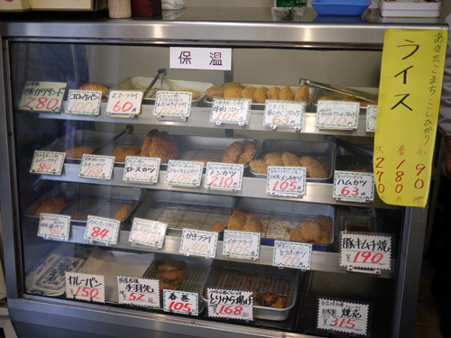肉のイチムラ枝川店2揚げ物ケース