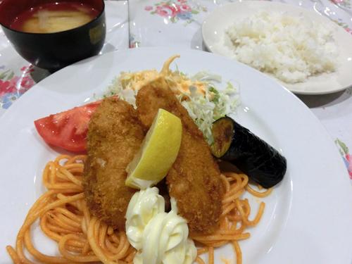 明治パーラー6白身魚フライ
