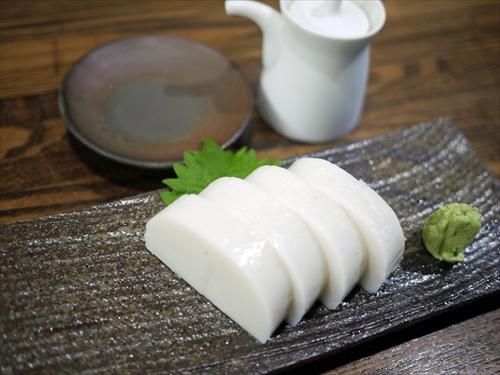 銀蕎麦国定勝どき店7板わさ