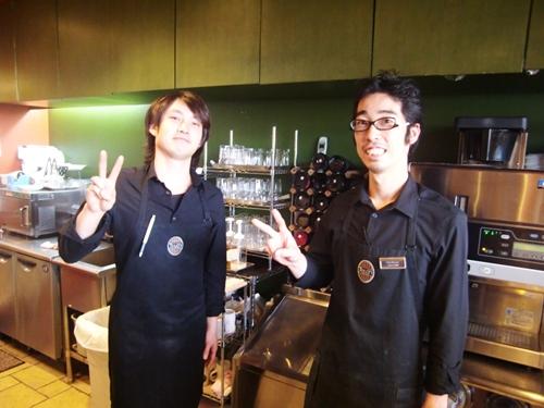 タリーズコーヒーNBF豊洲店10店長&スタッフ