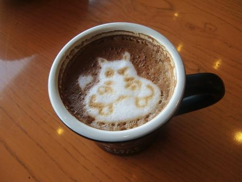 タリーズコーヒーNBF豊洲店4カフェラテS