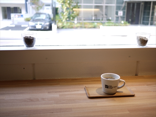 HIDE COFFEE BEANS STORE13カウンター
