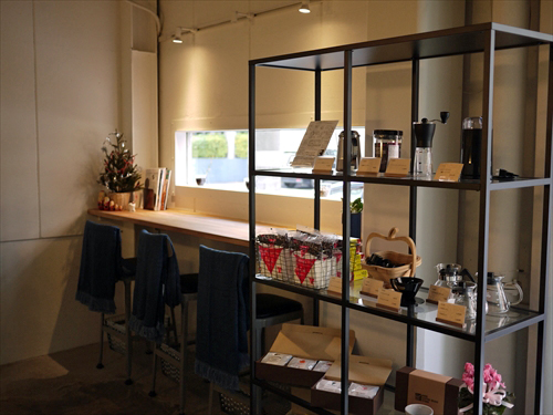 HIDE COFFEE BEANS STORE3店内