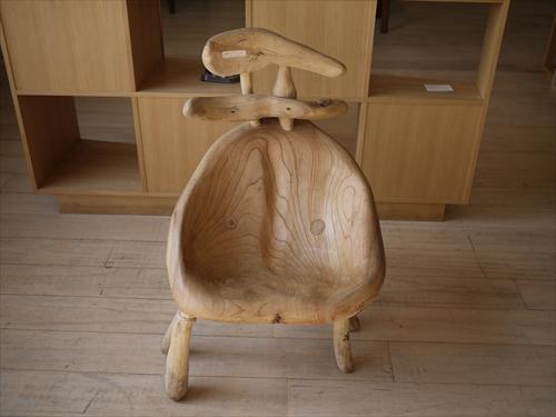 くくの木13流木椅子