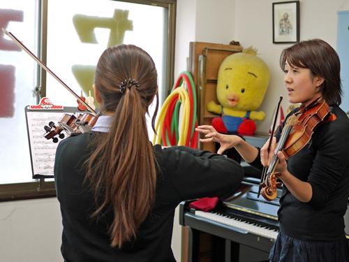 K音楽教室10ヴァイオリンレッスン3