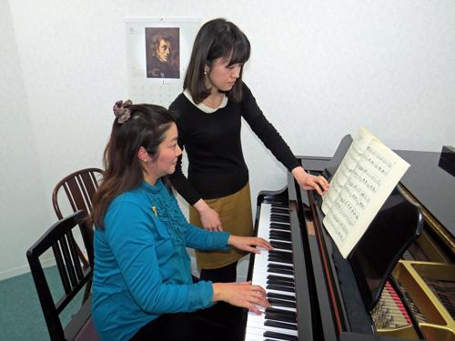 K音楽教室11ピアノレッスン4