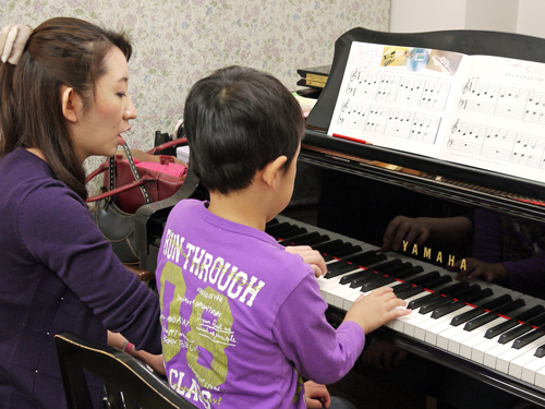K音楽教室6ピアノレッスン2