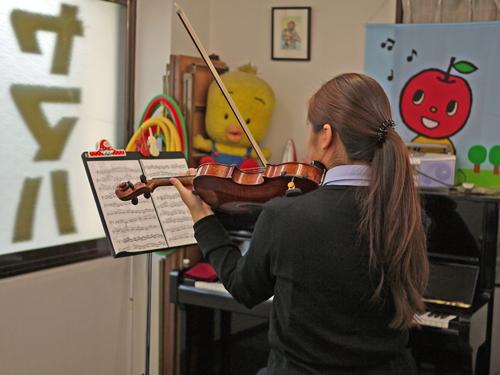 K音楽教室8ヴァイオリンレッスン1